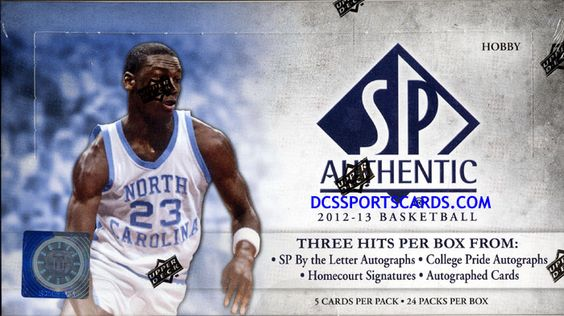 2012-13 Upper Deck SP Authentic Basketball Cards Hobby Box - $109.95