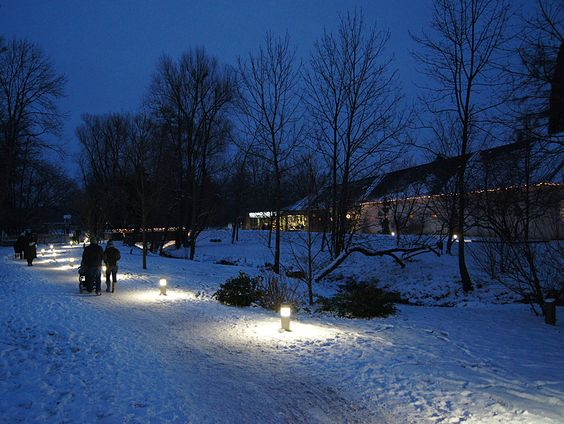 Schnee: Tag 2: Adventmarkt im Schloss Lackenbach ‹ Esterházy.at -