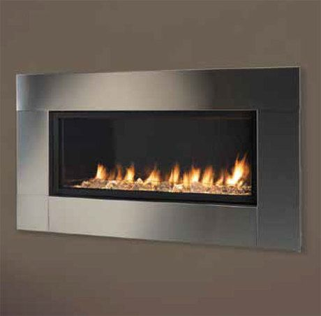 Majestic Avfl42wcss Wide Contemporary Stainless Steel Face