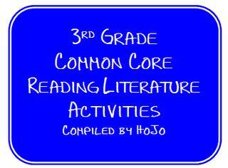 Hopkins' Hoppin' Happenings: 3rd Grade Common Core Literature Ideas & Activities