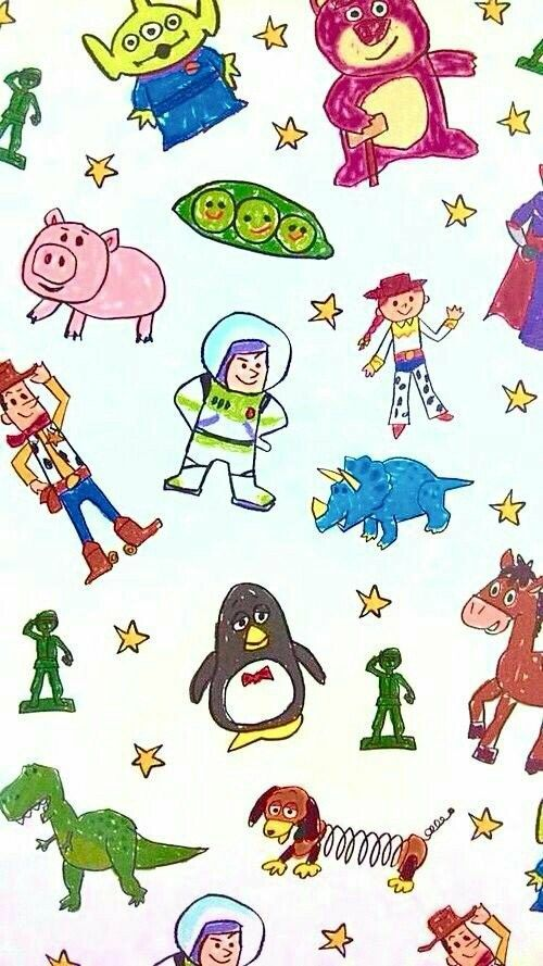 Pin By Kristy Claire On Toy Story With Images Disney Phone