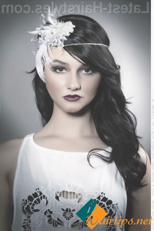 Long Hairstyles For Popular Hair Accessories Long Hair Styles Roaring 20s Hairstyles Flapper Hair