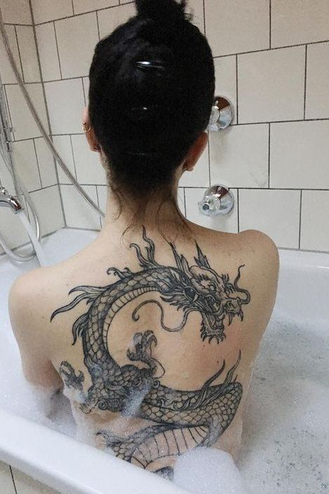 10 Classy Back Tattoo Designs To Get Yourself In 2020 Dragon Tattoo For Women Tattoos Tattoos For Women