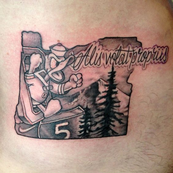 State pride 40 must see oregon tattoos that oregon life for Portland oregon tattoo artists