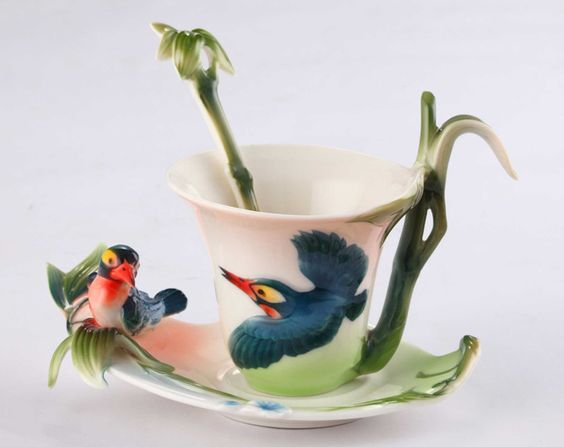 Detailed Product Information: - Made of porcelain - Set includes a cup, a spoon and a saucer - Imported - Capacity: 250ml