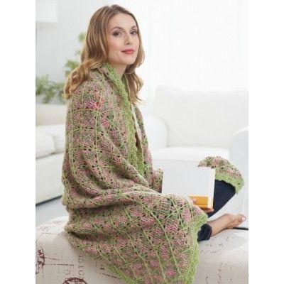 Free Crochet Afghan Patterns Intermediate : Free Intermediate Afghan Crochet Pattern Mothers Day ...