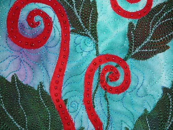Ann Fahl's Color and Quilts: Of Ferns and Quilts