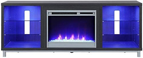 Ameriwood Home 1822196com Lumina Fireplace Stand For For Tvs Up To