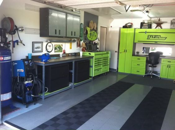 Just added a new Thermal Dynamics plasma cutter and some new Gladiator wall cabinets this week!