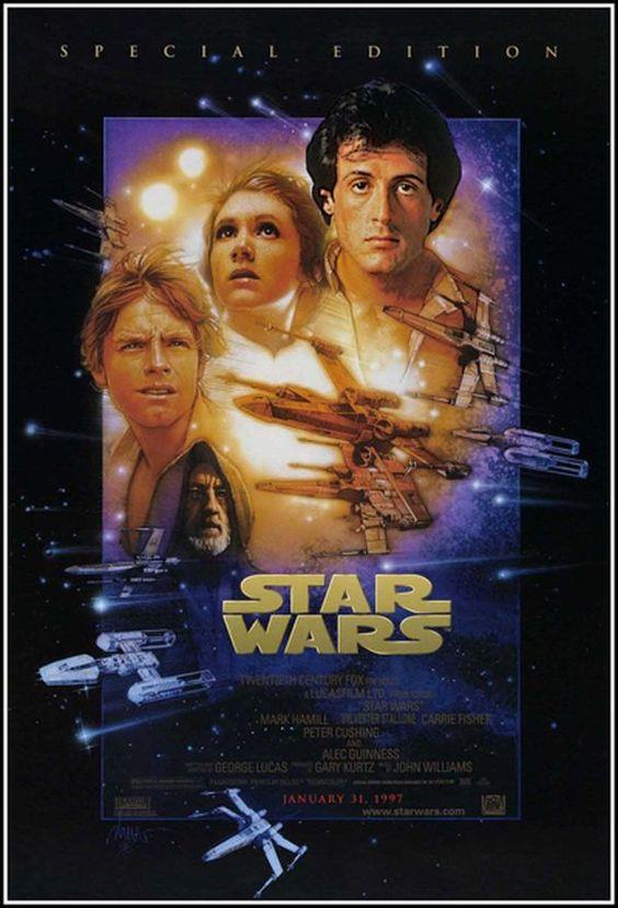 Filmposter mit ursprünglicher Besetzung
