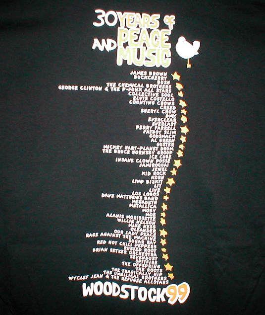 Woodstock 99 | Opiniones de Woodstock 99