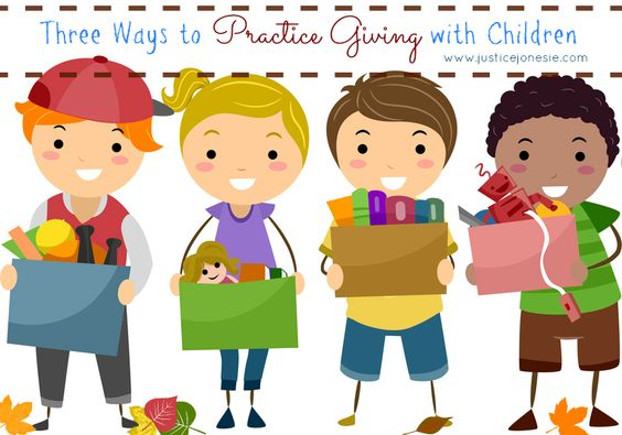 Three Ways To Practice Giving With Children #Thanksgiving
