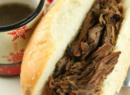 Slow Cooked Italian Beef Sandwiches For a Crowd