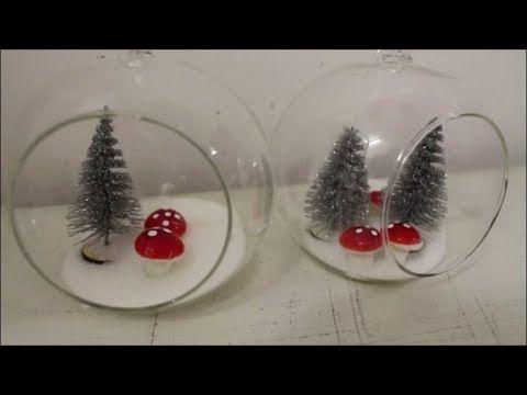 Diy Weihnachtskugeln Dekorieren Weihnachtsdeko Basteln Glaskugeln Weihnachtsdeko Basteln Weihnachtskugeln Dekorieren