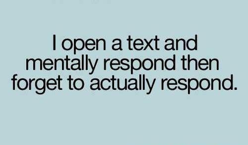 Open a Text