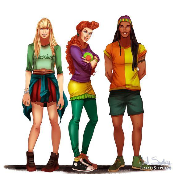 Personnages de dessins animés adulte