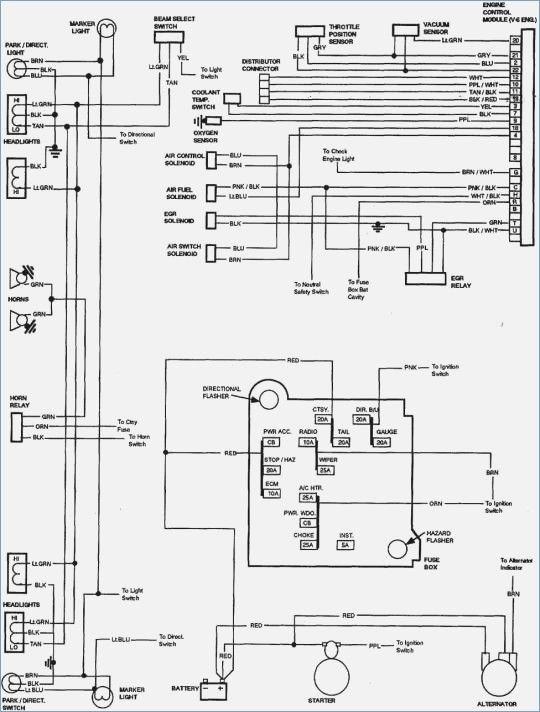 85 chevy truck wiring diagram  chevy trucks 1984 chevy