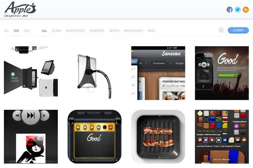 Check out these 25 sources of great mobile design inspiration