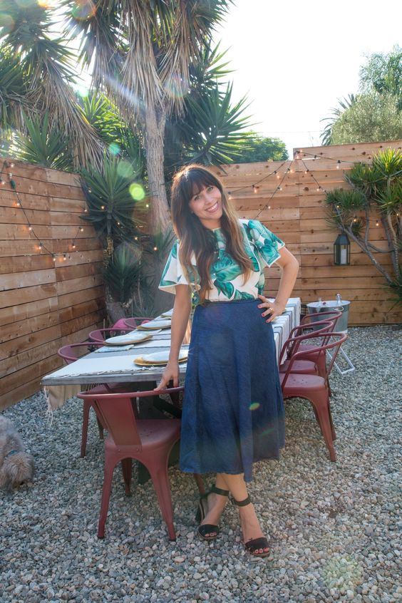 Name: Jaclyn Johnson Occupation: Founder of (NO SUBJECT) / Creator of Create + Cultivate / Dabbler at Frankieandalbert.com Location: Silver Lake; Los Angeles, California Size: 2 bedroom / 1 bathroom house Years lived in: Just over a year; Rent Jaclyn's home is warm, fun and welcoming from the moment you step through the gate into the outdoor dining space. This outdoor space is perfect to be enjoy on any given evening in Los Angeles, and her home is roomy and full of personality. Her…