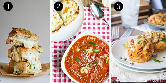 Who says pizza is just for dinner? These pizza recipes are perfect for your lunch break.