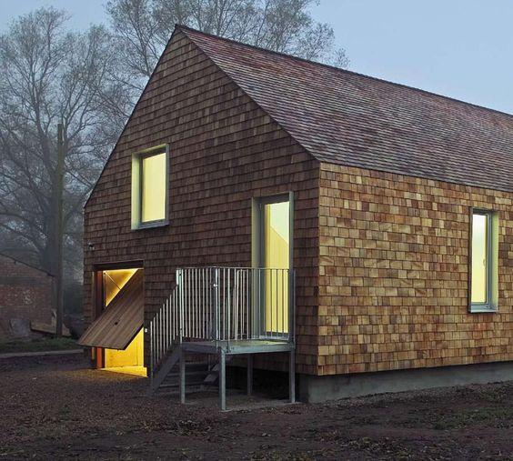 Contemporary Siding For Houses: Concept - Vernacular