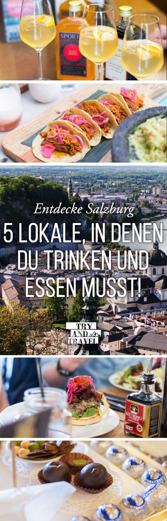 Try and Eat: 5 Lokale in Salzburg, in denen du trinken und essen solltest
