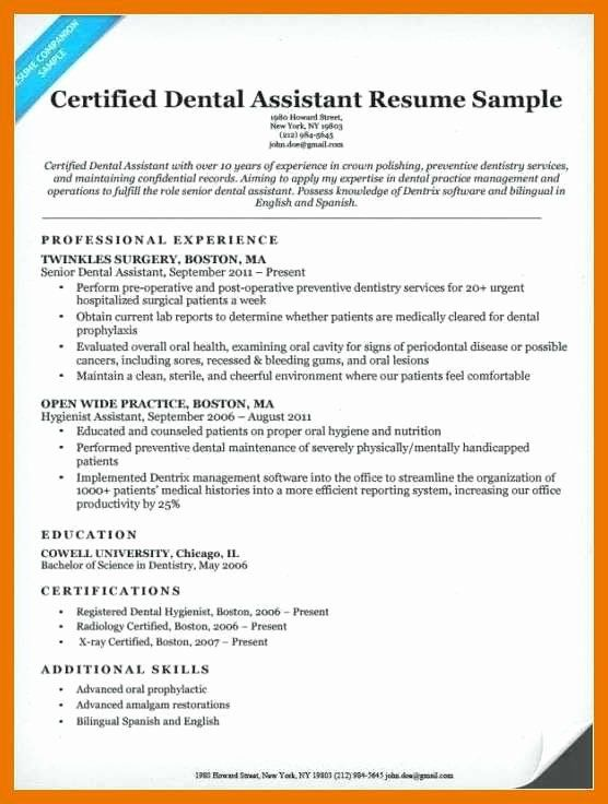 Entry Level Office Assistant Resume Awesome 9 10 Resume Sample For Dental Assistant Dental Assistant Medical Assistant Resume Job Resume Examples