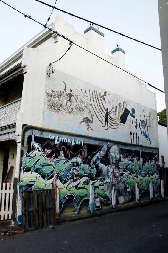 THE LETTER LAB, SVG, WFC and others.Glebe, Sydney.