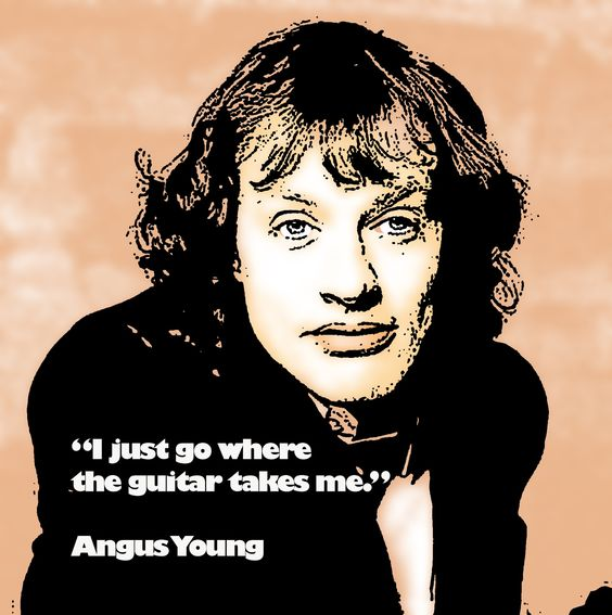 Rockstar Quotes: Angus Young Quote