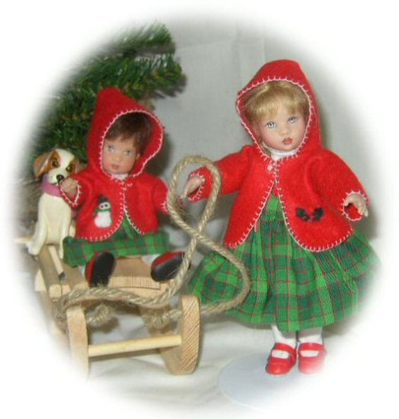 WINTER FUN OUTFITS FOR KISH RILEY AND ELLERY PATTERN