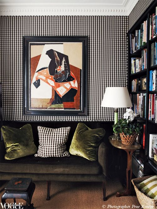 Cameron Kimber achieves restrained elegance in his tiny 1880 terrace, our Vogue Living Sept/Oct cover story.  From 'At Home', a story on page 118 of Vogue Living Sept/Oct 2012, on news stands and Zinio now.  Photograph by Prue Ruscoe.