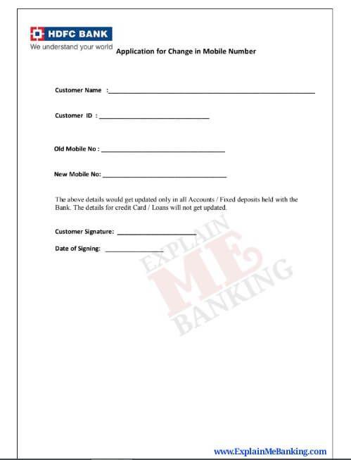 Pin On Bank Form Download Pdf