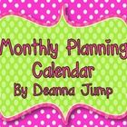 This is a free Monthly Planning Calendar.  It includes inspirational quotes and a place to keep track of important dates.Check out my weekly plan...