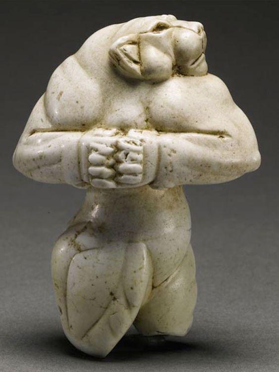 Неизвестный автор, Львица Гуэннола, около 3000-2800 до н. э