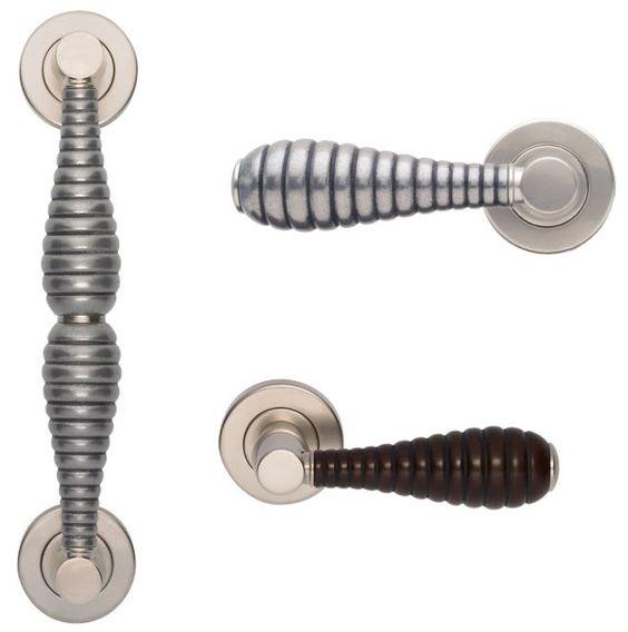 Door Hardware / Handle:  Beehive design by Turnstyle Designs in England