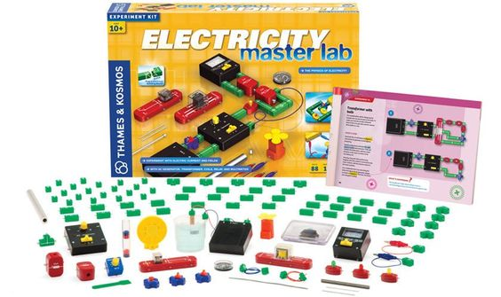 THAMES AND KOSMOS  Electricity:  Master Lab Set