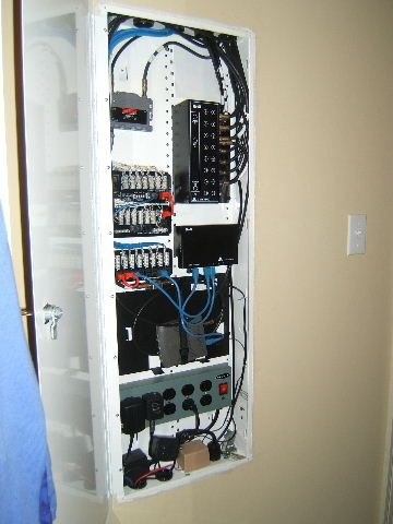 whole house structured wiring networking set ups cabinets panels picture electrical