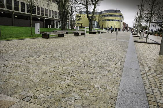 Teeside University - Royal White Granite
