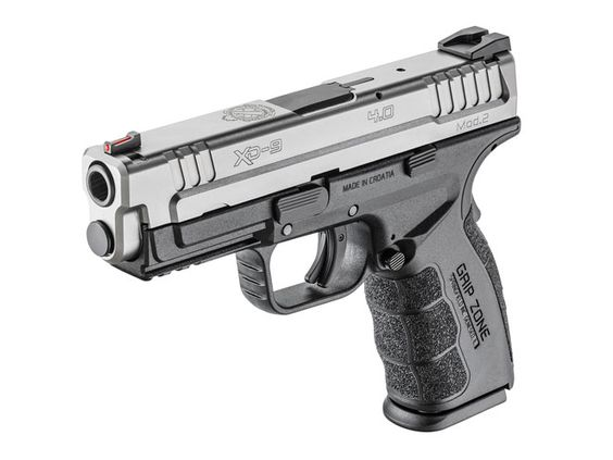 Coming to grips with the Springfield Armory Service Model XD Mod.2, the newest member of the popular XD family!