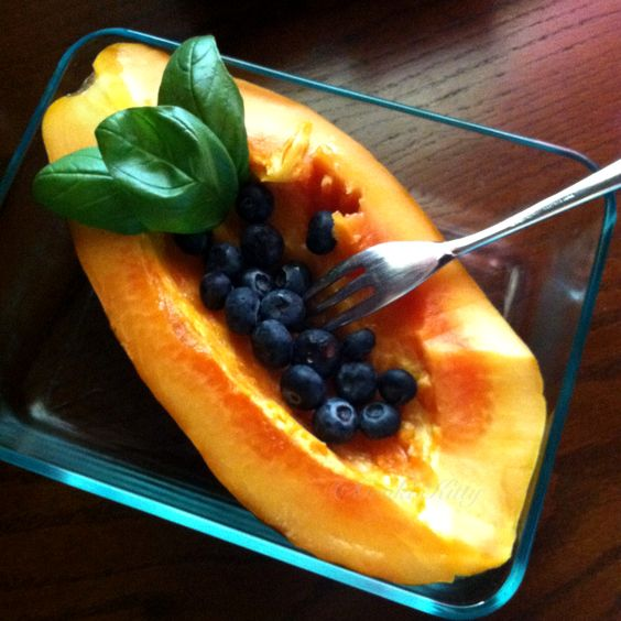Fresh Papaya meal idea