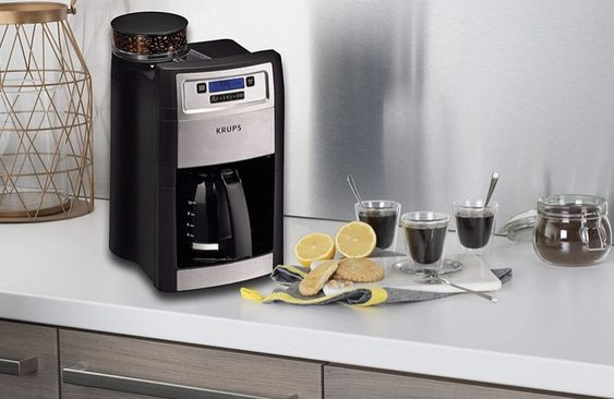 Coffee Grinder Krups Km785d50 In 2020 Coffee Maker With Grinder Best Coffee Maker Coffee Maker
