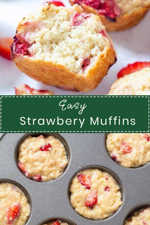 Easy Strawberry Muffins