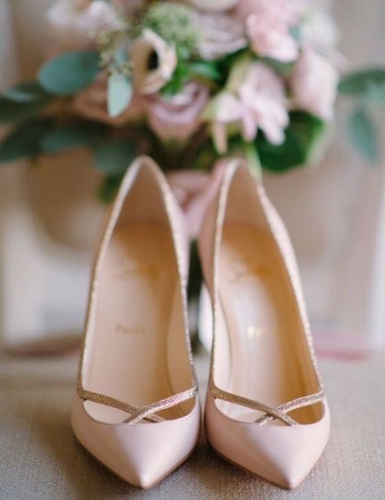 Wedding shoes!! Flats or heels? It has to be perfect when you walk down the aisle. It has to be comfortable!