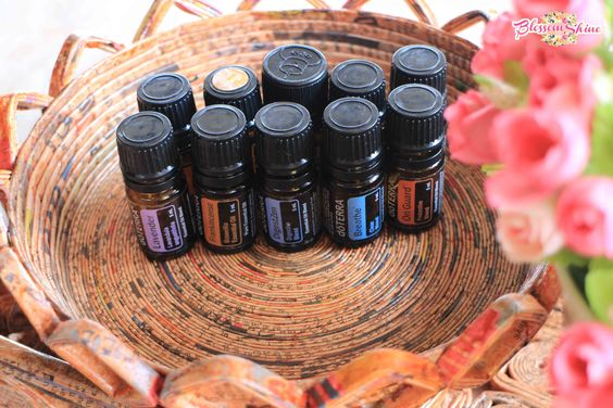 The top 10 essential oil doTERRA