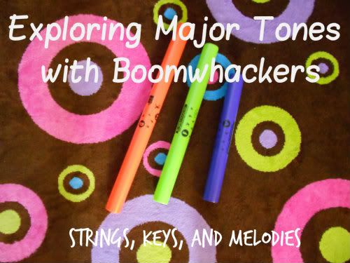 Exploring Major Tones with Boomwhackers, Strings Keys and Melodies photo