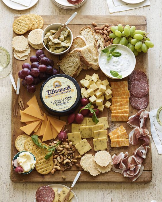 Spring Cheese Board / everything you could possibly need for the perfect cheese board!: