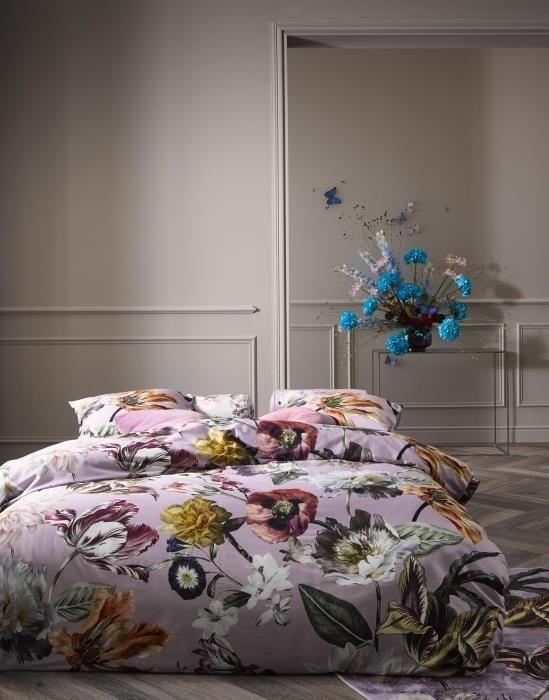 Slaapkamer Ideeen Lila.Essenza Filou Dekbedovertrekset Bloemen Lila In 2020 Ideeen Voor