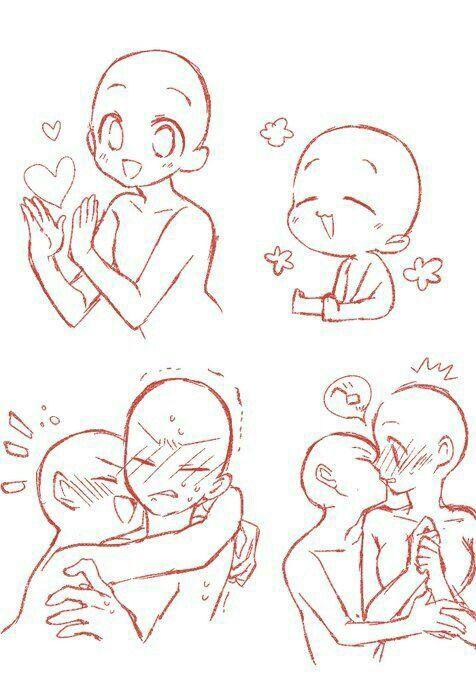 Otp Draw References Chibi Characters Drawings Chibi Drawings Manga Drawing