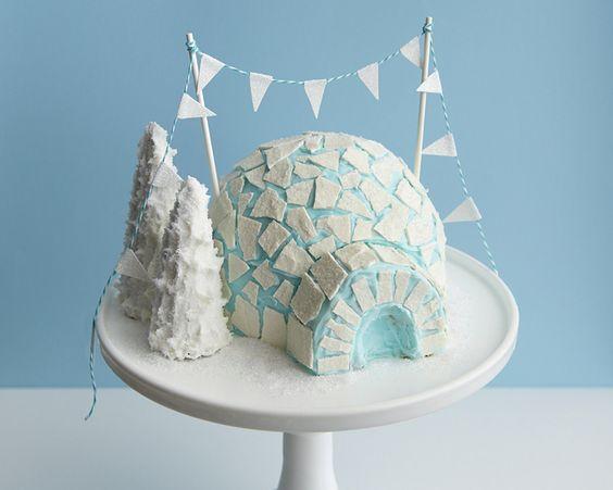 How to Make an Igloo Cake • CakeJournal.com