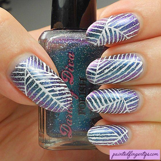 Painted Fingertips on Tumblr
